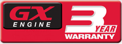 GX Engine Warranty Logo